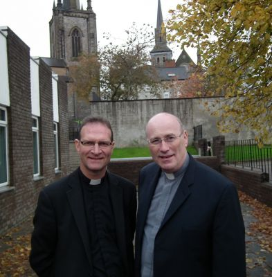 Dean Kenneth Hall and Canon Peter O'Reilly